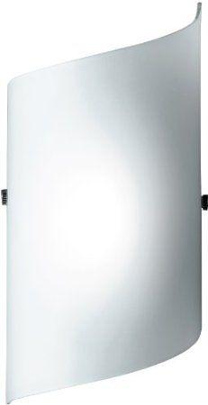 Honsel Leuchten 33391 Honsel Wandleuchte mattnickel Glas weiß matt: Amazon.de: Beleuchtung Treppenhaus 24,99€