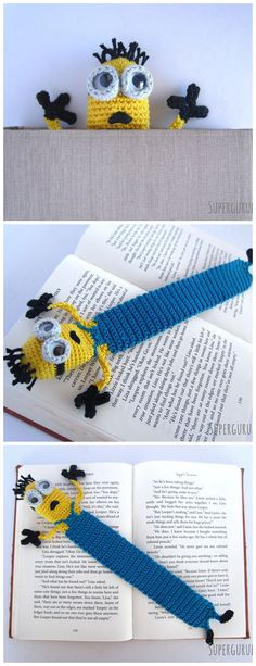 These nine crochet bookmark patterns are small projects that require just a little bit of yarn and time. Here are some free and paid crochet patterns for making bookmarks. Crochet Bookmarks, Crochet Books, Crochet Gifts, Cute Crochet, Crochet Bookmark Patterns Free, Granny Square Crochet Pattern, Crochet Borders, Crochet Motif, Beginner Crochet Projects
