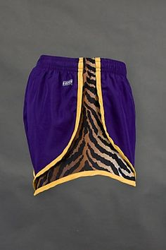 soffe tiger print workout shorts - fierce!