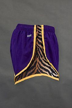 soffe tiger print workout shorts - fierce!