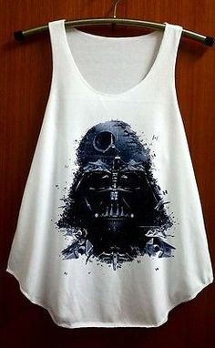 Star Wars Darth Vader Clothing Shirts Tank Top TShirt T Shirt Singlet - Size S M