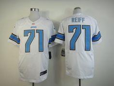 c21a3c52d02 Men's Nike NFL Detroit Lions #7 Riley Reiff White Elite Jersey The price is  $22