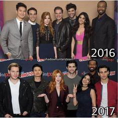I love how everyone looks so different. except Isaiah. he looks exactly the same. Isabelle Lightwood, Alec Lightwood, Malec, Shadow Hunters Book, Dramas, Clary And Jace, Shadowhunters Tv Show, Matthew Daddario, City Of Bones