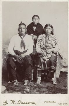 Osage family - no date