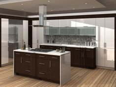 The Hanssem modern kitchens line offers a wide choice of kitchen cabinetry, kitchen doors, colors and finishing Contemporary Kitchen Cabinets, Kitchen Cabinet Styles, Kitchen Doors, White Kitchen Cabinets, Kitchen Cabinetry, Glass Cabinets, Modern Kitchens, Brooklyn Kitchen, Traditional Cabinets