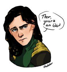 Thor, you're an idiot by Ohdotar.deviantart.com on @DeviantArt