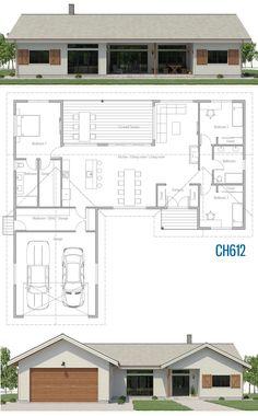 Tiny House Plans 15129348736708659 - Source by bgermaneau Bungalow House Plans, Tiny House Cabin, Dream House Plans, Modern House Plans, Small House Plans, House Floor Plans, House Layout Plans, House Layouts, Modular Home Plans