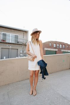 5 Ways To Style A Little White Dress