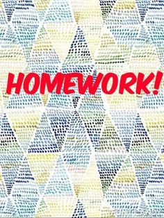 homework eliminated