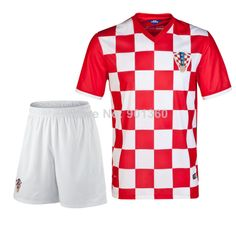 aea061bfd 2014 Brasil World Cup Croatia Home Team Player Version Soccer Jerseys  Customized Official Original Name training suit  11.35 - 18.99
