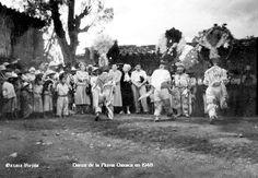 Danzantes de la Danza de la Pluma en 1948 en Cd. de Oaxaca , Oaxaca Mexico ,,, 4