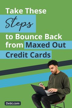 Don't let maxed out credit cards keep you from having credit when you need it. Fix Your Credit, Build Credit, Good Credit Score, Cash First, Financial Goals, Feeling Overwhelmed, Money Management, Credit Cards, Helping People