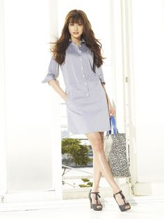 ヨンアyoun-a Pretty Woman, Ulzzang, Korean Fashion, Fashion Models, Hot Girls, Asian, Shirt Dress, Shirts, Beauty