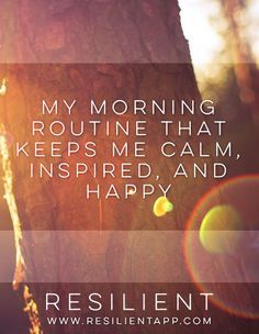 Seeing how other people start their mornings is a great way to get inspiration…