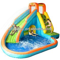 Kids Pools With Slides 4734647213356ac51197e74f02e21b6a (236×202) | water slides for