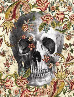 Wisdom is the daughter of experience. ~ Leonardo da Vinci #skulls #art #dopeness