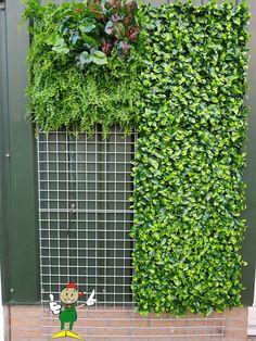 Garden Wall Designs, Vertical Garden Design, Vertical Planter, Balcony Garden, Indoor Garden, Indoor Plants, Cafe Interior Design, Interior Garden, Vertikal Garden