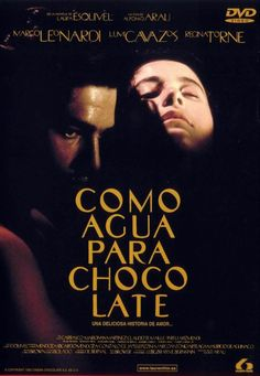 "Como agua para chocolate [Like Water for Chocolate] - Alfonso Arau 1992 - DVD02068 -- ""Mexico: early 20th century. A young couple is blocked from marrying by the woman mother. To be near his love, the man marries her sister & she expresses her passion for him through her cooking."""
