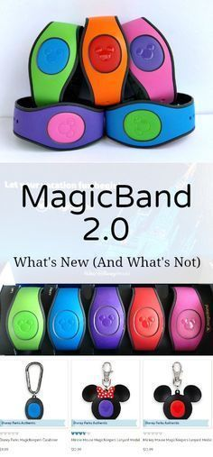 Disney Magic Band Everything You Need To Know Everything you need to know about the new MagicBand at Walt Disney World! What's new and what's not with the next generation Magic Band. Disney World 2017, Walt Disney World Vacations, Disney Resorts, Disney Trips, Disney Travel, Family Vacations, Disney Worlds, Disney Cruise, Disney Honeymoon