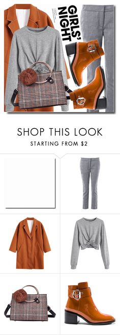 """""""Girl gang"""" by soks ❤ liked on Polyvore featuring Jeffrey Campbell, outfit, coat and polyvoreeditorial"""