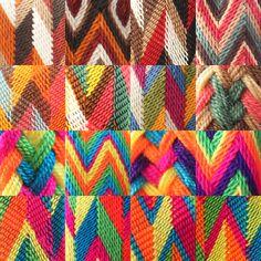Unique patterns #wayuu #mochila www.chabelis.nl