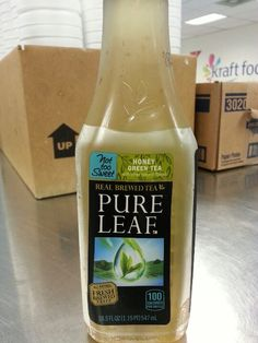 Lipton Pure Leaf Honey Green Tea