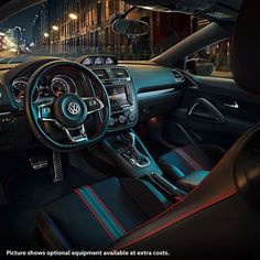 The night is ours. Can you guess which Volkwagen model this is? #interior #volkswagen #vw