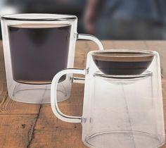 コーヒーもエスプレッソも!リバーシブルな?マグカップ「Double Shot Glass Mug」   Q ration(キューレーション)   QUAEL bags   クアエル