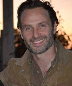 Andrew Lincoln Smile