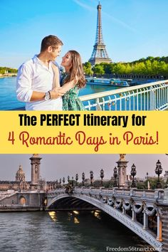 You need this perfect Paris Itinerary! Whether it's your first time or 21st time, these things to do in summer and winter will make your romantic vacation in Paris the perfect time! #4days #paris #firstime #itinerary #thingstodo #winter #spring