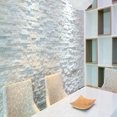 Unique Wall Tiles  Metro Brick Effect White Ceramic Tile