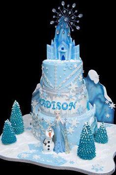 Ideas for cake desing disney frozen castle Elsa Birthday Cake, Frozen Themed Birthday Cake, 2 Birthday, Frozen Theme Cake, Mermaid Birthday Cakes, Frozen Themed Birthday Party, Themed Cakes, Disney Castle Cake, Frozen Castle Cake
