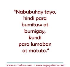 60 Best Tagalog Quotes Images Tagalog Quotes Patama Deep Love