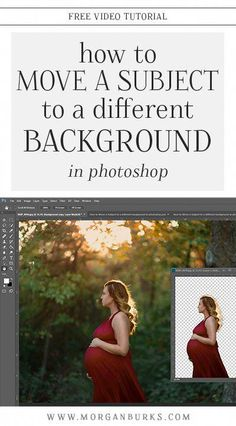 Wanting to blur a background or move your subject to a new one? This tutorial will show you how to mask hair and blur or change backgrounds in Photoshop! Bride Photography, Newborn Photography Props, Photography Camera, Photography Tips, Photoshop Photography, Travel Photography, New Backgrounds, Change Background, Create Photo