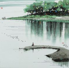 If water derives lucidity from stillness, how much more the faculties of the mind. Zhuangzi
