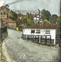 Lugar do Ribeiro | 출처: postalguarelas