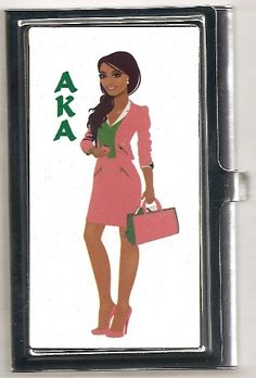 AKA business card case