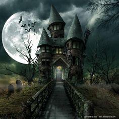 spooky house - Google-søgning