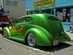 THE AWESOME GREEN MACHINE !!!!!