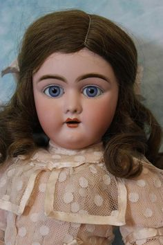 21 inch Antique German Bisque 109 Heinrich Handwerck doll Ball Joint body TWIN