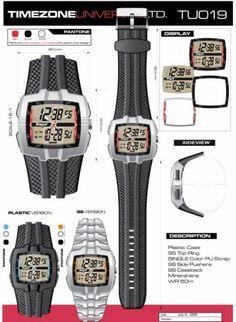 Time Zone Universal  LTD. Watches  designed by: Alvin Gilbert Dc. Gonda  abugonda@yahoo.com Pantone, Design Development, Behance, Watches, Concept, Colors, Wristwatches, Clocks