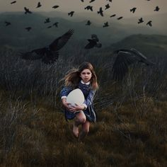 """Even as a child, the blackbirds always seemed to be there, to obey her every command, to carry out her every wish. They had become part of her."""
