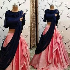 Book ur dress now Completely stitched outfits in all colours like ✔ comment✔ share✔ tags✔ For booking ur dress plz dm or whatsapp at Indian Gowns Dresses, Indian Fashion Dresses, Indian Designer Outfits, Indian Outfits, Designer Dresses, Designer Clothing, Lehenga Choli Designs, Lengha Design, Indian Lehenga