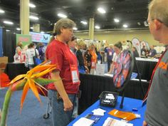 Spinning the wheel to win a prize at Gaylord Opryland Hotel & Convention Center. Buy this Prize Wheel at http://PrizeWheel.com/products/tabletop-prize-wheels/mini-clicker-prize-wheel/.