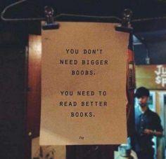 Better books.