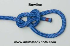 Tutorial on Bowline Knot Tying ( if you are going to learn how to tie ONE knot ...this is it .. )