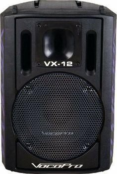 VocoPro  VX-12 Professional 12 Karaoke Vocal Speaker by VocoPro. $196.37. Vocal Speakers. Save 30%!