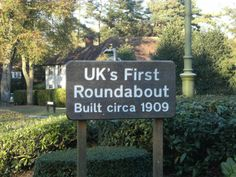 Uk's First Roundabout