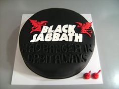 Black Sabbath Cakes