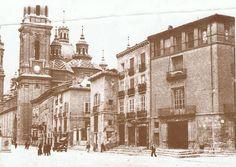 Plaza del Pilar Plaza, Madrid, Spain, Retro, Zaragoza, Antique Photos, Cities, Viajes, Fotografia
